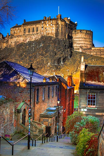 Edinburgh Apartments Beaverhall Castle Photo